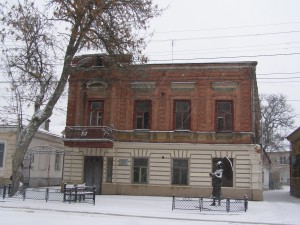 Мемориальное здание. Б. Дом Фельдман Г.Х., где родилась и жила Ф.Г. Раневская