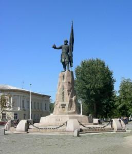 Памятник казачьему атаману Ермаку Тимофеевичу