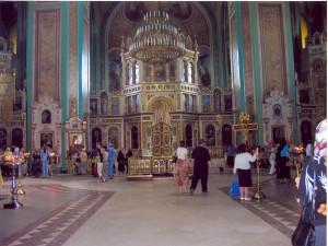 кафедральный собор во имя Рождества Пресвятой Богородицы    интерьер