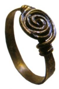 Бронзовый перстень
