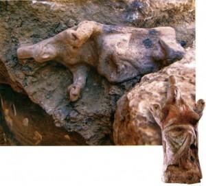 Терракотовая статуэтка богини Кибелы